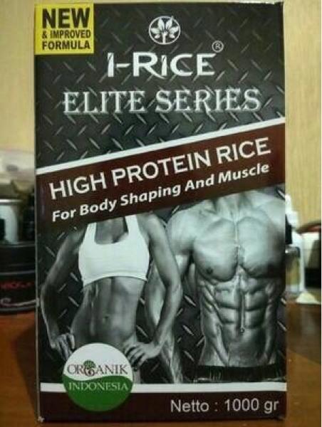HOT SPESIAL!!! i rice irice high protein beras merah organik protein makanan sehat - goLEX5