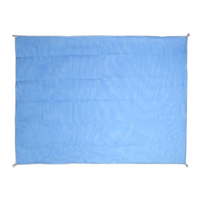 promo Sandbeach Mat Tikar Pantai Lipat - Blue olx