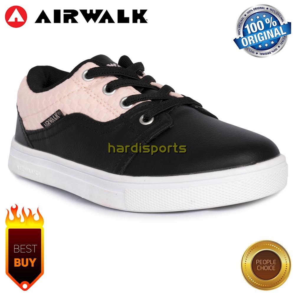 Sepatu Casual Sneaker Anak Airwalk Jarri JR (G) AIW17CXG1134 - Black Pink