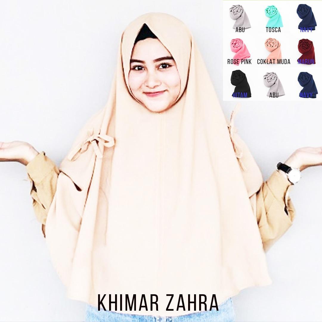 LoveMe Hijab Instan Jilbab Kerudung Khimar Pita Samping - Jilbab Instan - Kerudung Hijab Khimar Instan
