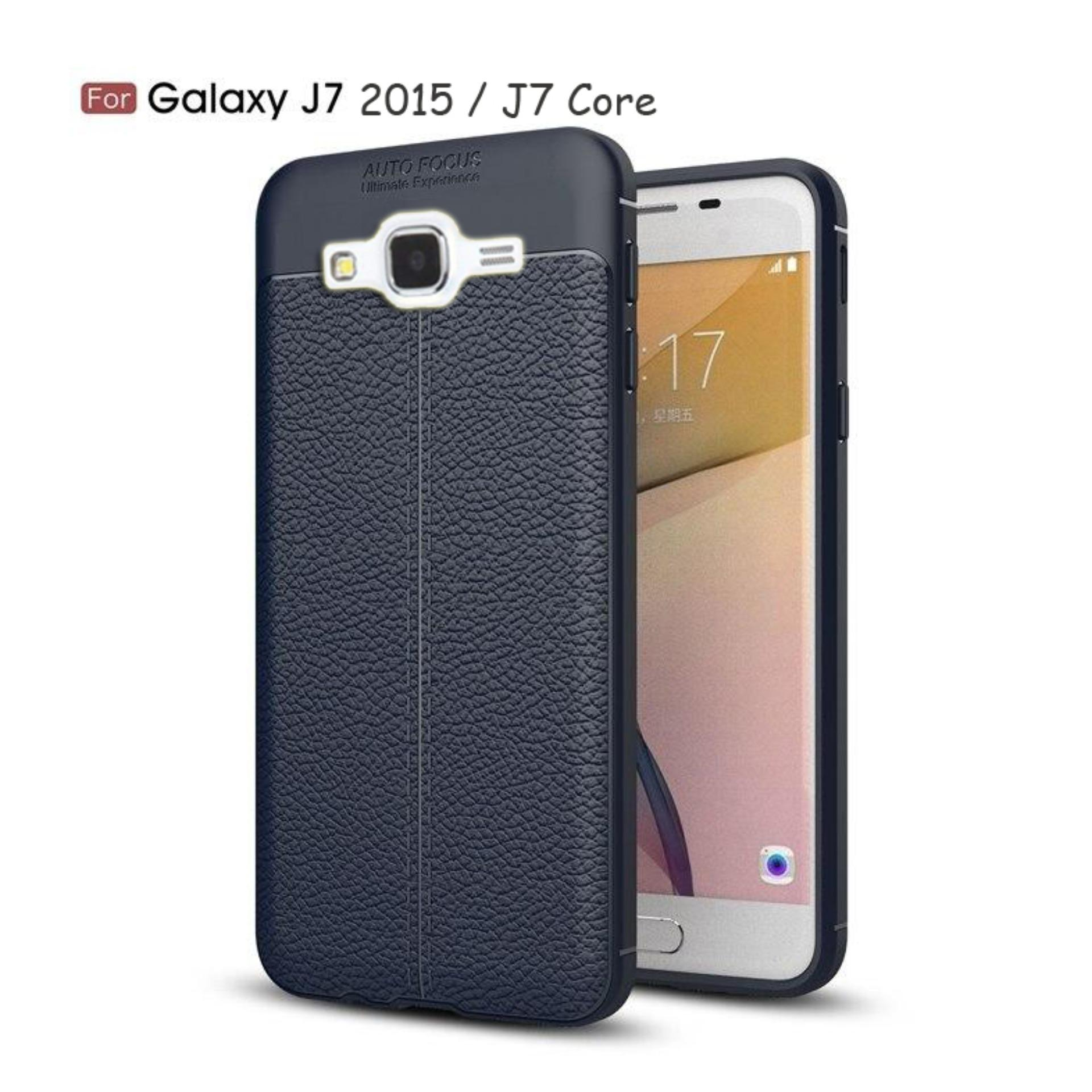 JAK - Softcase Leather / Case Auto Focus / Case Ultimate for Samsung Galaxy J7 2015 / J7 Core ( 5.5