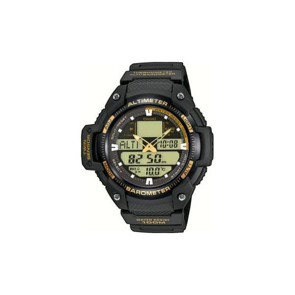 Jam Tangan Pria Outdoor Casio Outgear SGW-400H-1B2 Original Twin Senso
