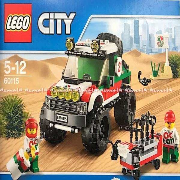 Lego City 60115 Jeep Wrangler Mobil Jeep Ban Besar Mobil Brick ORI