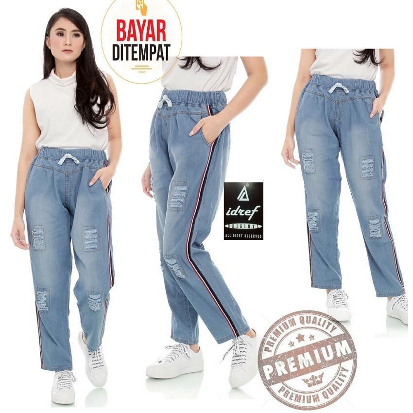 Celana Panjang Jeans Jogger pants wanitaIDR95900. Rp 97.900 168 Collection Best Celana