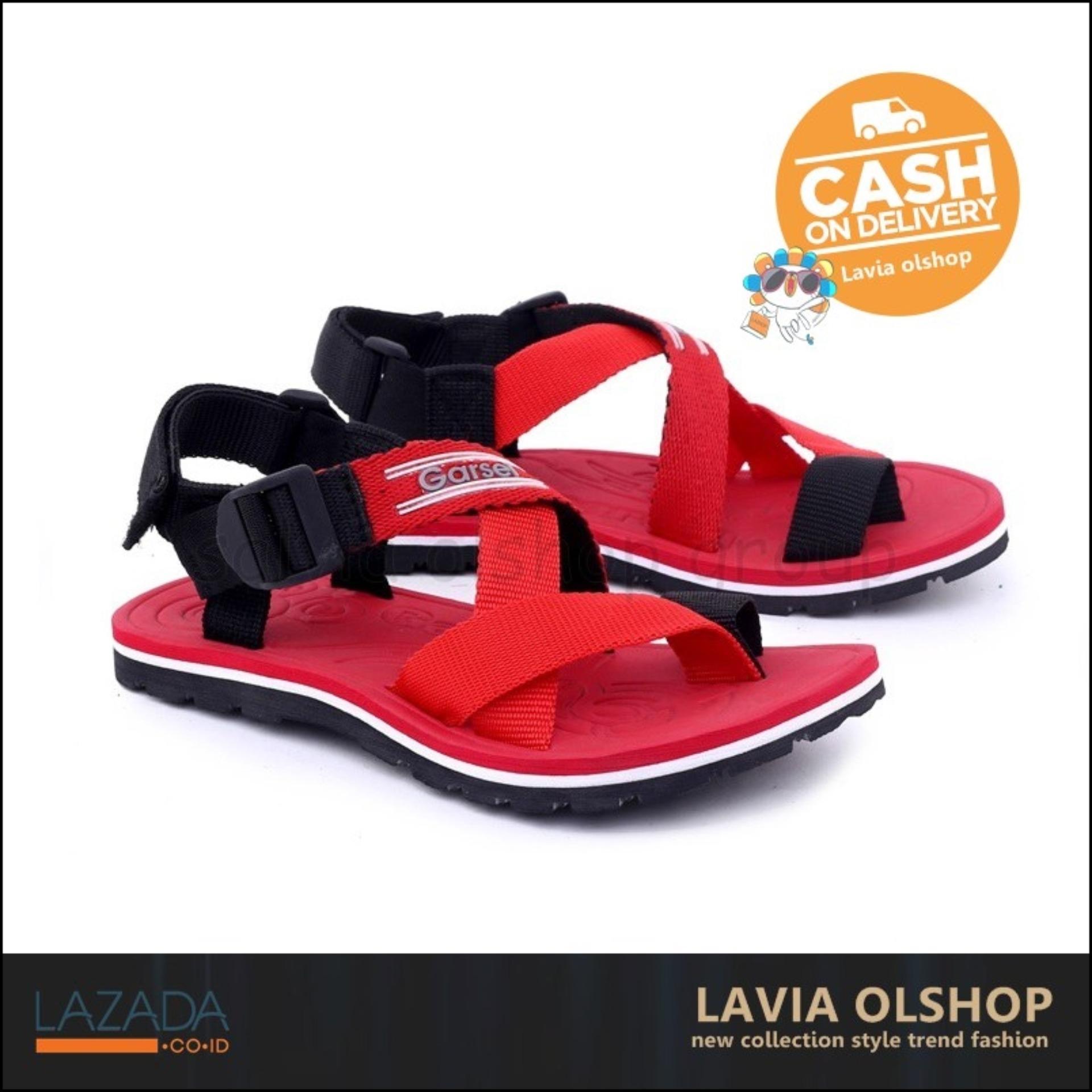 Shoes Sandal Gunung Anak Laki-Laki Keren Dan Modis Model Terbaru GSG 9030 - Merah