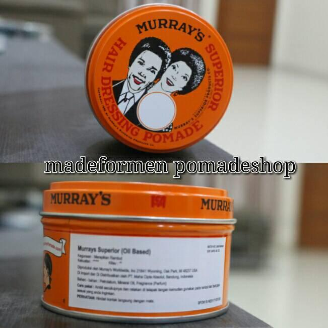 Murrays Superior Pomade - Oilbased - 3oz