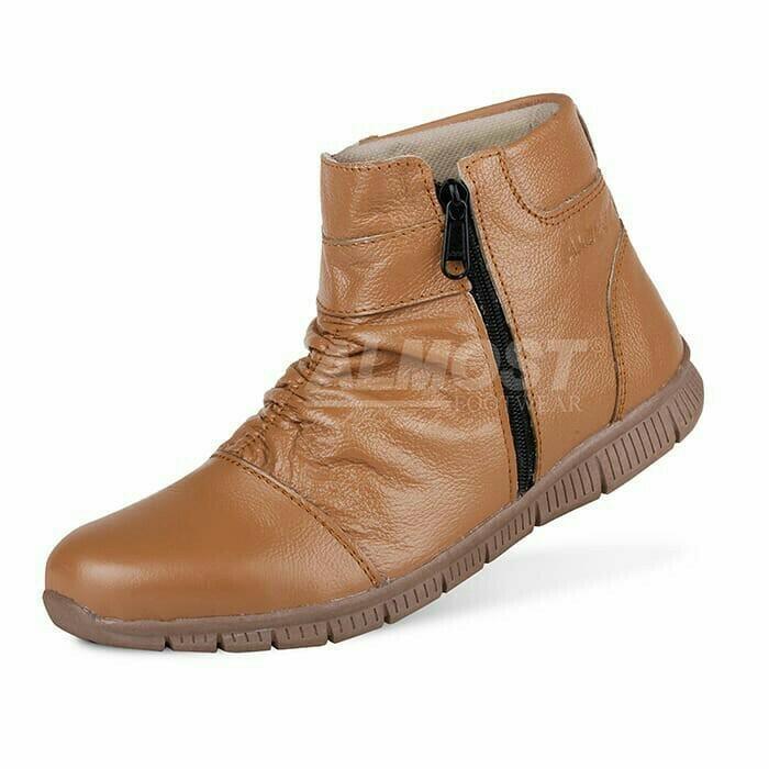 Promo Sepatu Casual Boots Pria Almost Zipper Original Bahan Kulit Asli (Sepatu Gunung, Sepatu Kerja, Sepatu Jalan, Sepatu Santai, Sepatu Treking, Sepatu Joging, Lapangan, Sneaker, Slip On, Slop, Adidas, Nike, Pria, Wanita, Sepatu Proyek)