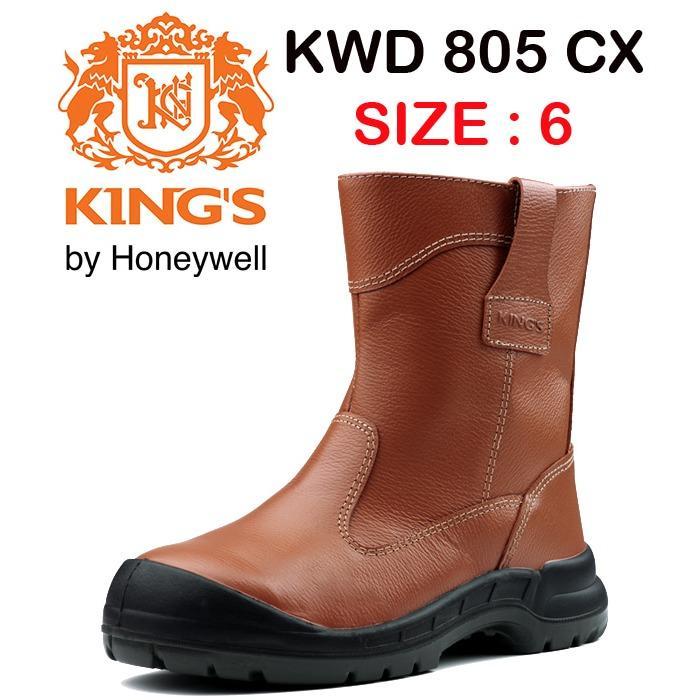 KING'S KWD 805 CX Size 6 Sepatu Kerja Safety ASLI KINGS