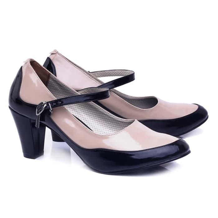 Sepatu wanita/sepatu perempuan Sepatu Formal Wanita Kerja Pesta Sepatu Heels Pantofel Murah keluaran terbaru