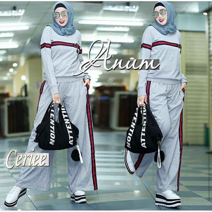 Busana Couple Muslim Java JSR 241/Baju Koko dan Blouse Wanita Muslim Terbaru/ Baju Pasangan Muslim