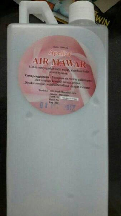 APRILIA AIR MAWAR BPOM 1 LITER - Paket Perawatan Wajah Terlaris