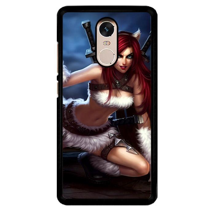 League Of Legends Kitty Kat Katarina Z0611 Xiaomi Redmi Note 3 | Note 3 Pro Custom Hard Case