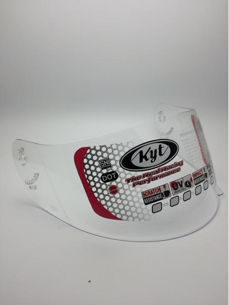 Exclusive Kaca Helm Original KYT RC Seven / R-10 / K2 Rider full face