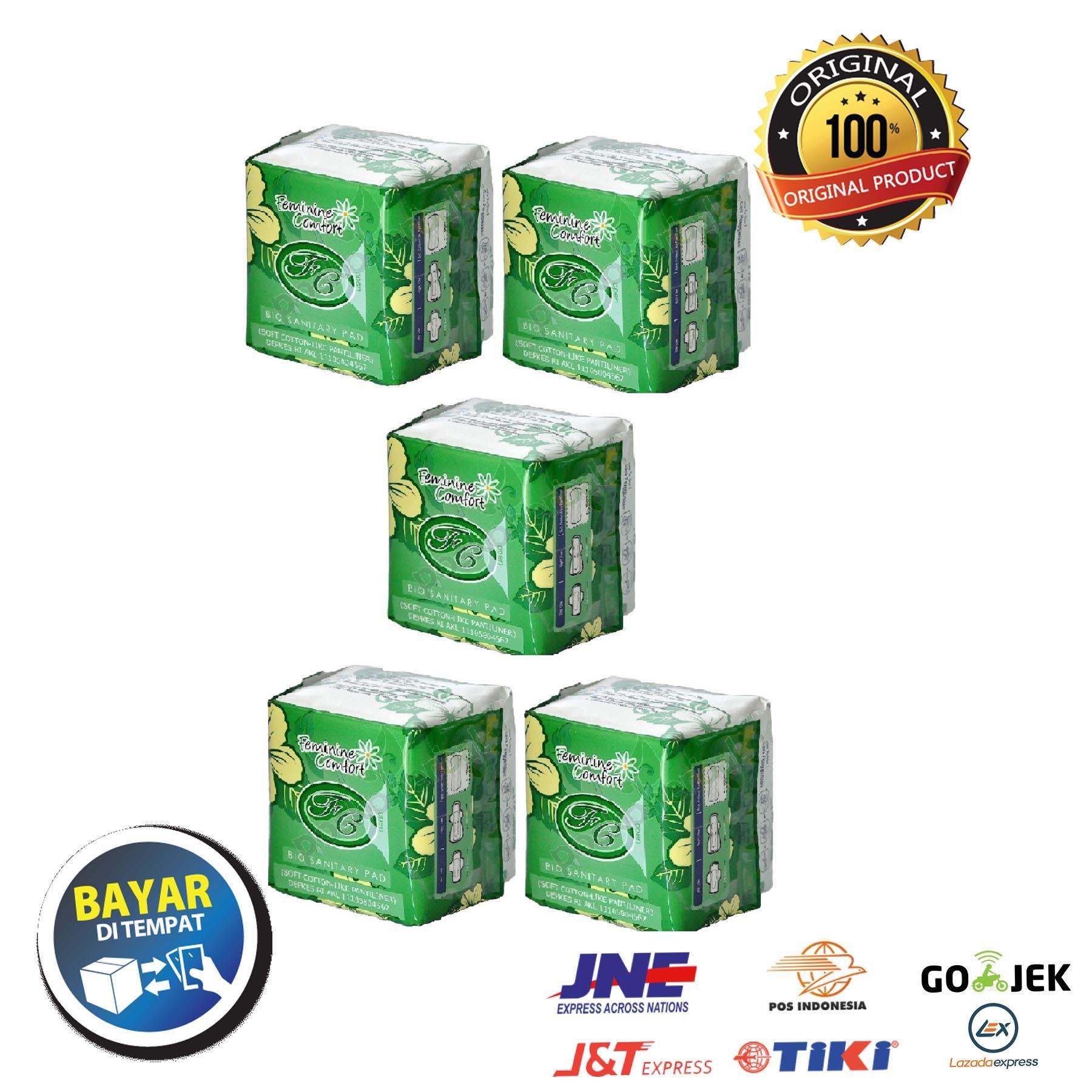 Avail Pembalut Herbal Pantyliner - Paket 5 Pcs By Tyoolshop.