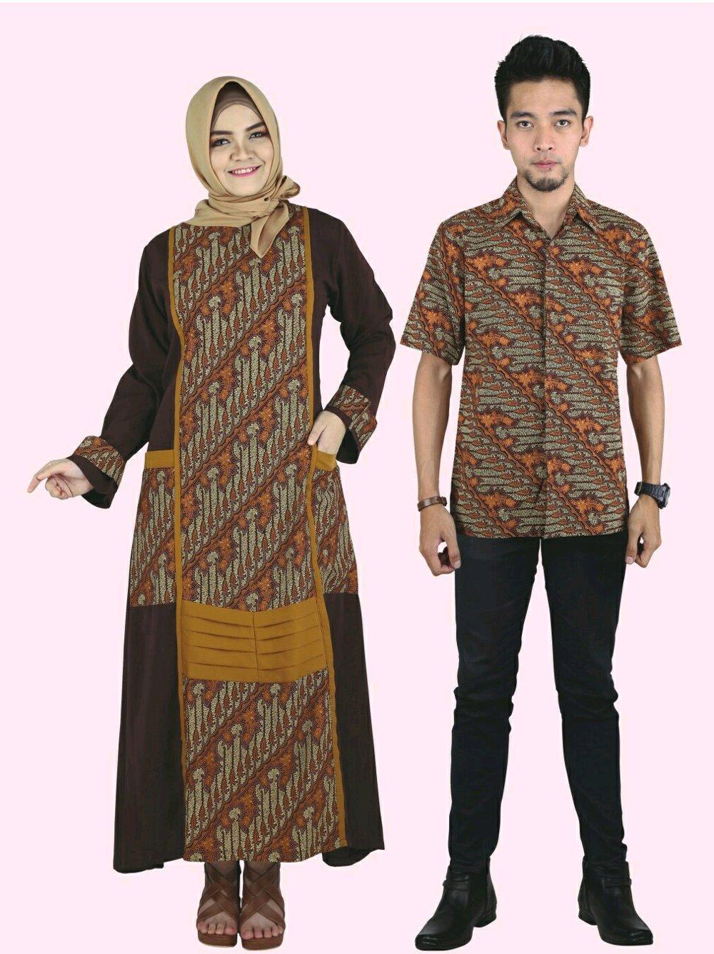 Baju Muslim COUPLE Raindoz 2175 2176 di lapak DISTRO GROSIR MURAH BANDUNG sepatumurahnian