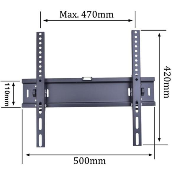 TV Bracket 1.5Mm Thick 400 X 400 Pitch For 26-55 Inch TV
