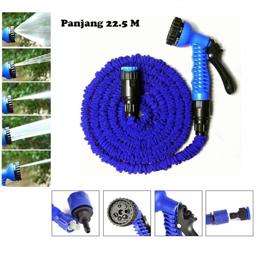 Selang Air Magic Hose Panjang 22.5 M Selang Air Ajaib Original Anti Kusut