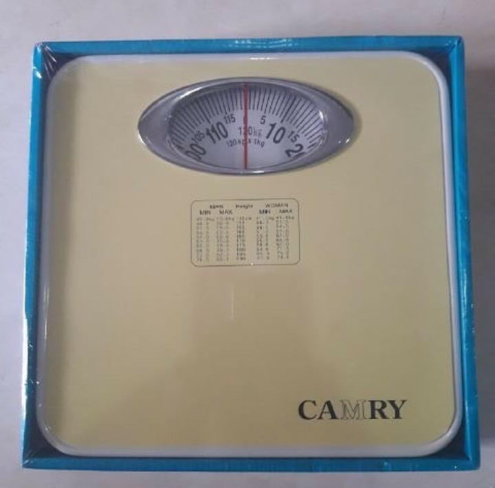 Camry Original Timbangan Badan Manual Model Terbaru 120 kg