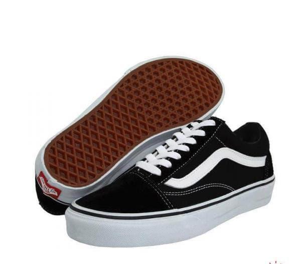 ORIGINAL!!! Sepatu Vans Old Skool Hitam - 7iAUc4