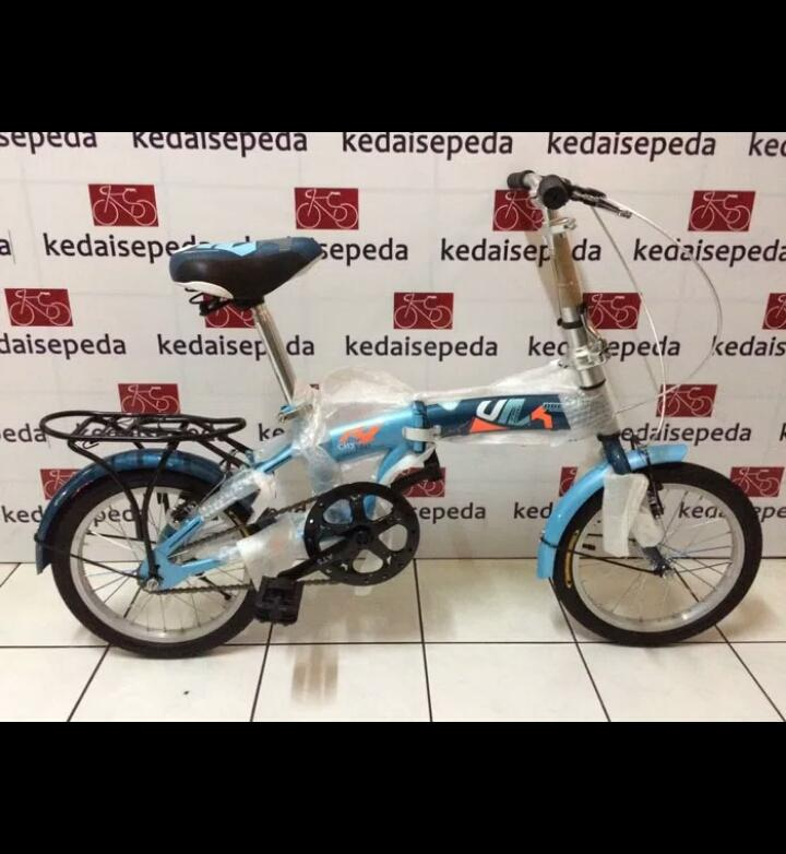 Sepeda lipat anak dewasa 20 odessy 1 speed