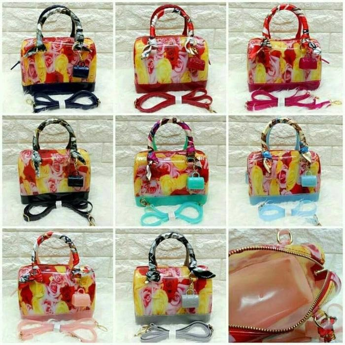 Best Seller!! Tas Furla Jelly Flower Semi Ori # - ready stock