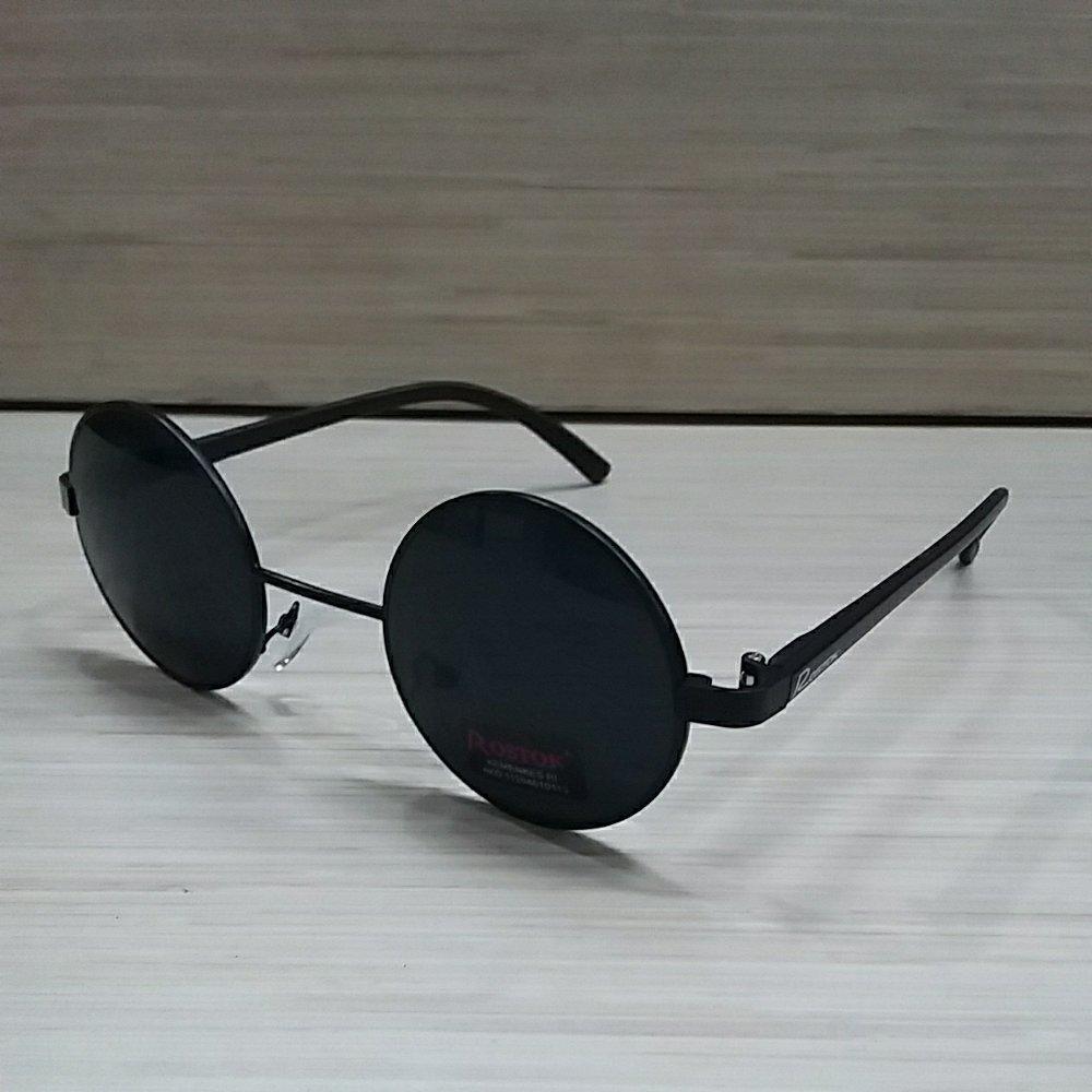 kenzoe - Kacamata Unisex Vintage Klasik Hitam Bulat Bundar Kacamata Full  Hitam 6ab0f8ad67