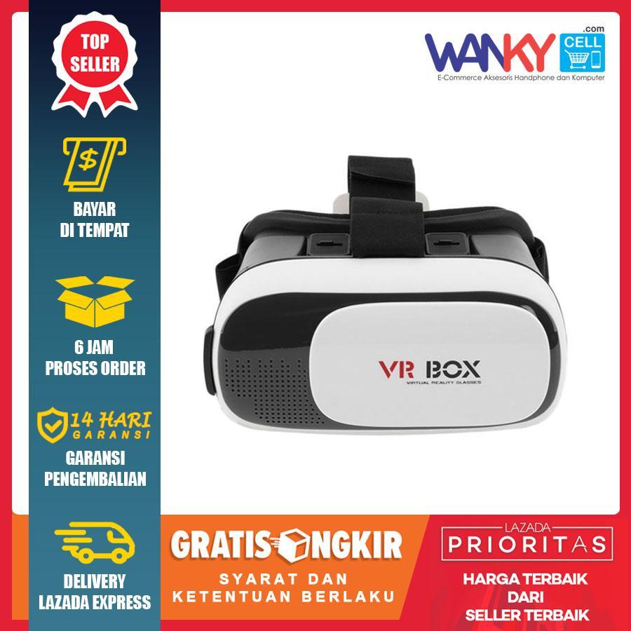 VR Box Virtual Reality 3D Glasses For Smartphone - Putih a04f999860