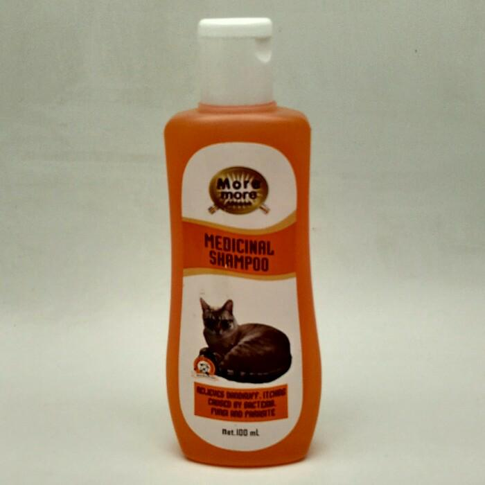 Shampoo Anti Jamur Sampo Kucing Moremore Medicated By Serbamurah.