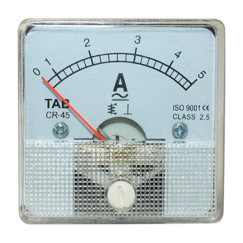 EELIC PAM-CR45 -A5-1 Panel AC/DC Ampere Meter Analog Program CR 45 Standart Internasional Dengan Class Standart 2.5 PANEL METER BERKUALITAS TINGGI