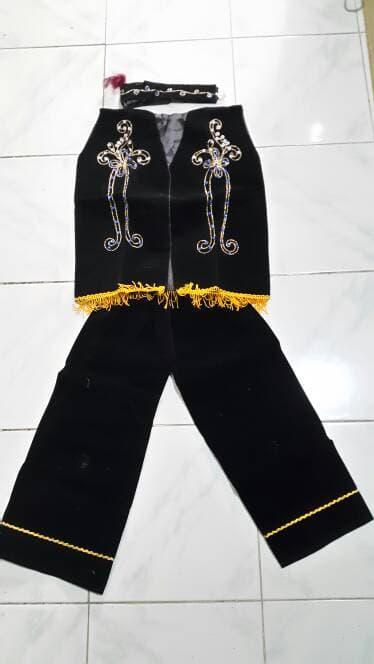 Pakaian Karnaval/ Baju adat Kalimantan/Dayak Anak Laki Laki & Perempuan PAUD