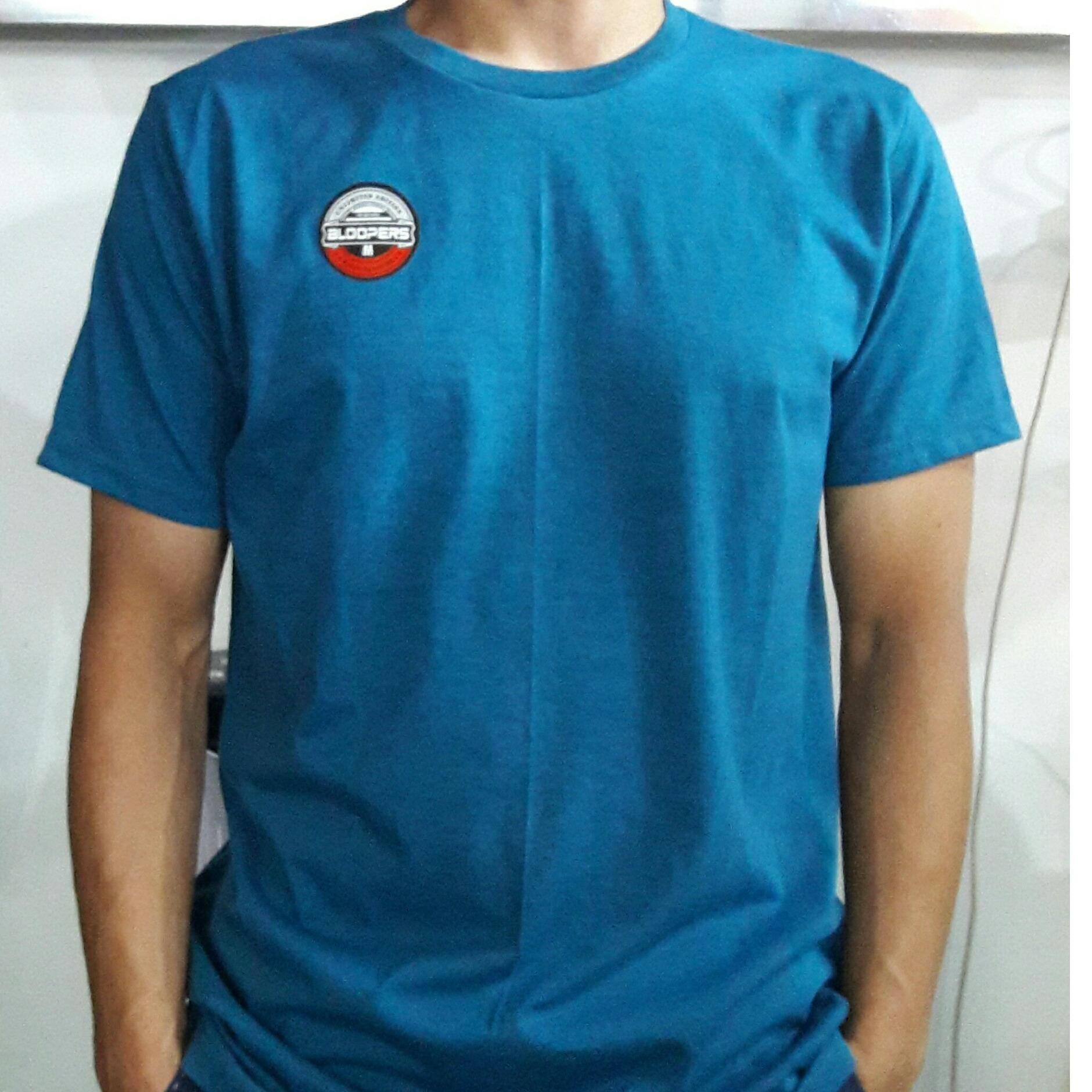 Buy Sell Cheapest 3r Kaos Polos Best Quality Product Deals Green Misty 30s Pria Biru