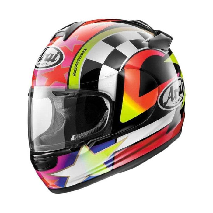 Arai Vector-X Schwantz 95 Original Helm Full Face - Graphic Black