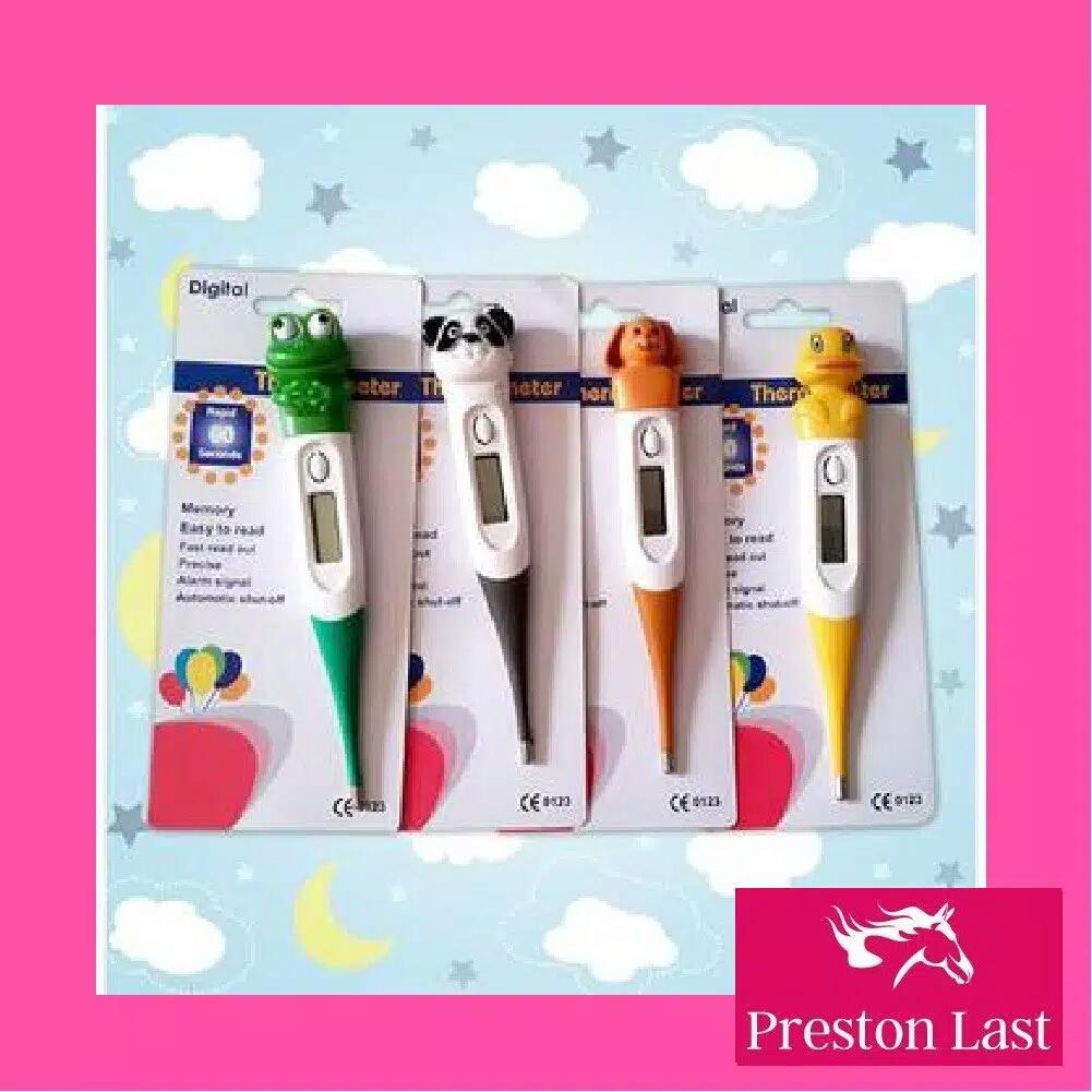 Preston Last - Thermometer Termometer Digital Elastis Karakter Animal Alat Pengukur Suhu Badan Anak