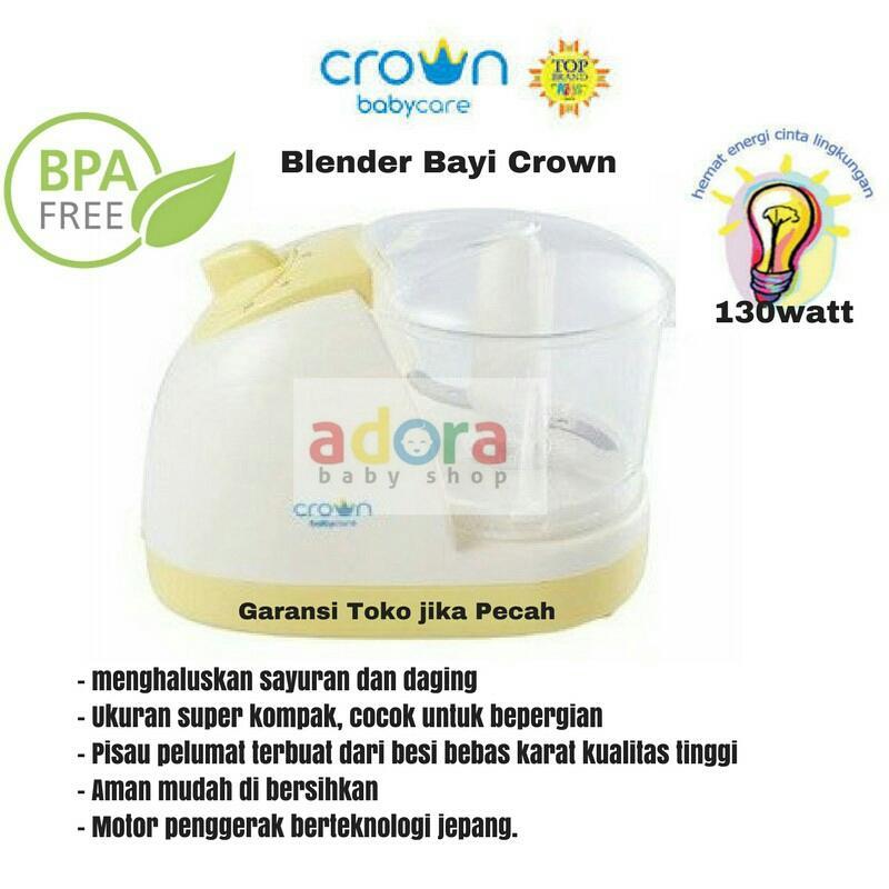 Crown Easy Blend Multi Mini Chopper Penghalus Makanan Bayi