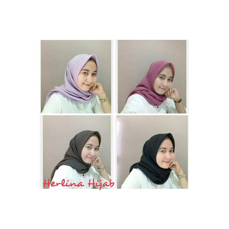 Grosir Hijab Segiempat Kodian SUPER