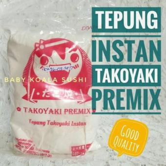 Price Checker Tepung Takoyaki Premix Instan 200 gram pencari harga - Hanya Rp21.375