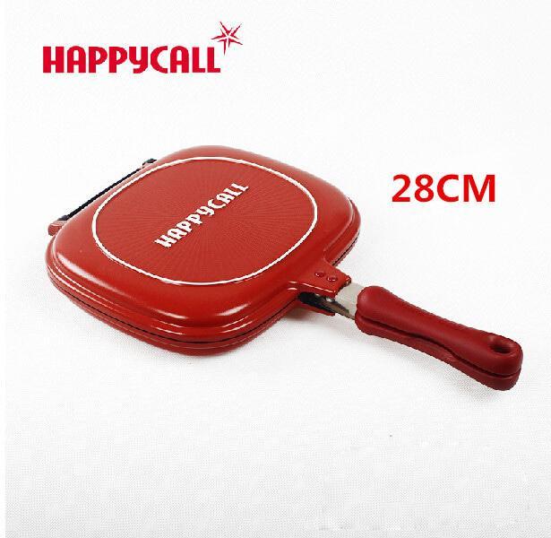HAPPY CALL DOUBLE PAN STANDAR 28 CM - WAJAN PENGGORENGAN DAN GRILL PAN