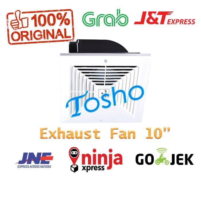 Diskon 15%!!!! Sekai Mvf 1091 Exhaust Fan Plafon 10Inch Kipas Hisap Kamar Mandi - ready stock
