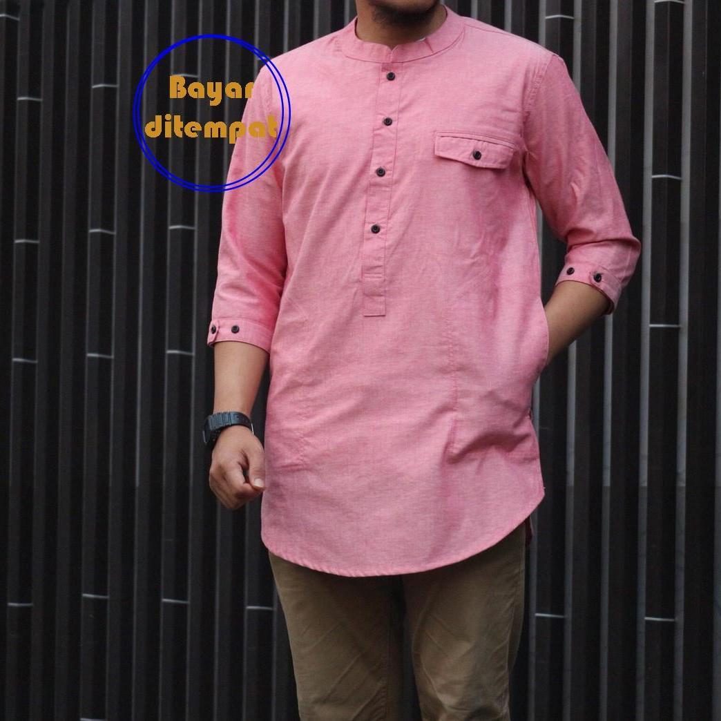 Koko Pakistan Pink dan Biru Cassual Man