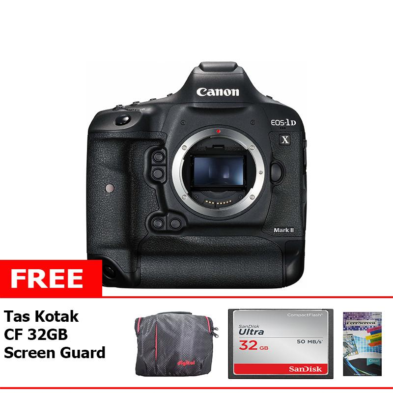 Sumber Bahagia - Canon Kamera Dslr Eos 1d X Mark Ii Body Only + Free Tas Kotak + Sandisk Cf 32gb + Lcd Screen Guard By Sumber Bahagia Canon.