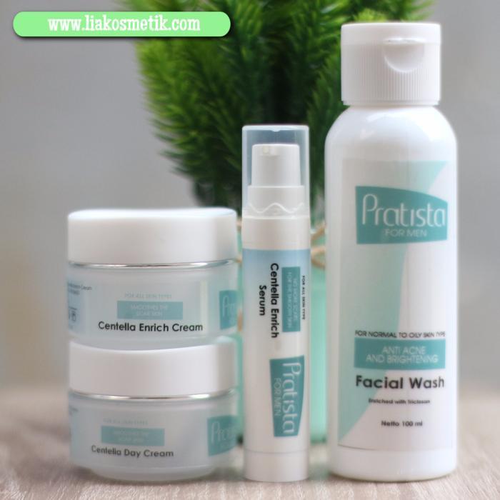 Paket Cream Obat Penghilang Bopeng/ Bekas Cacar Pratista Khusus PRIA