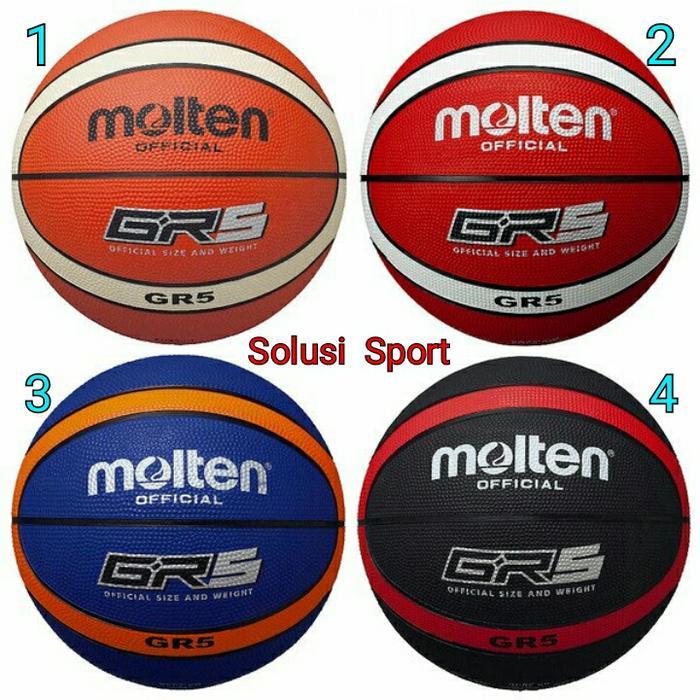 ORIGINAL!!! Bola Basket Molten GR5 GR 5 Original - ns9tPx