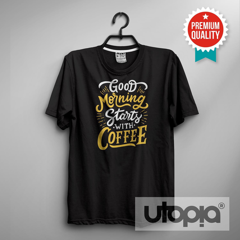 Harga Handuk Putih Good Morning Mp Agen Fm B26 Rp 20000 Utopia Kaos T Shirt Distro Pria Wanita Starts With Coffee