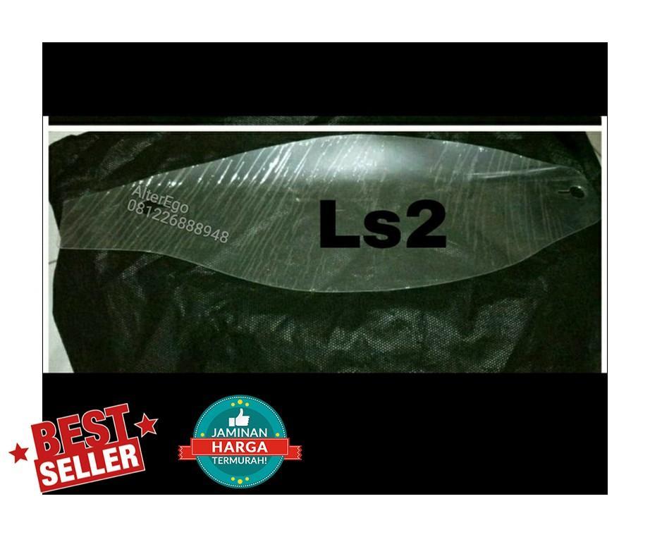 tear off clear buat ls2 FF323 , minimal pembelian 5 lembar