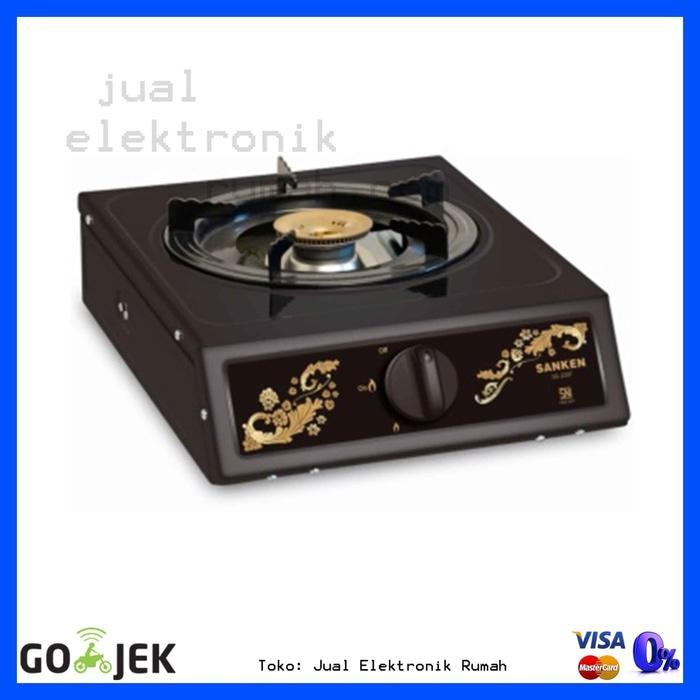 ORIGINAL - Stove Kompor Gas 1 Tungku Miyako KG101C Kualitas Terbaik