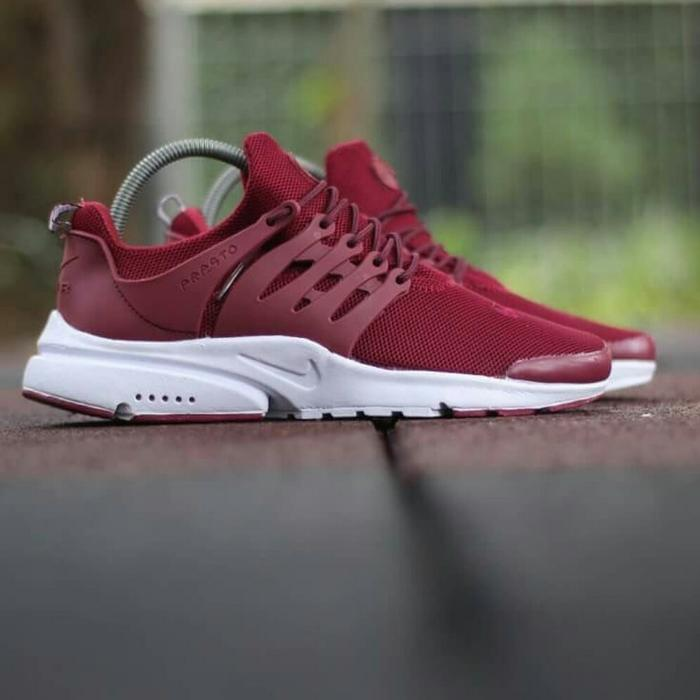 Sepatu Sneakers Nike Air Presto Kets Sekolah Olahraga Pria Wanita Premium   Sepatu  Olahraga Sekolah Unisex f31ad37df8