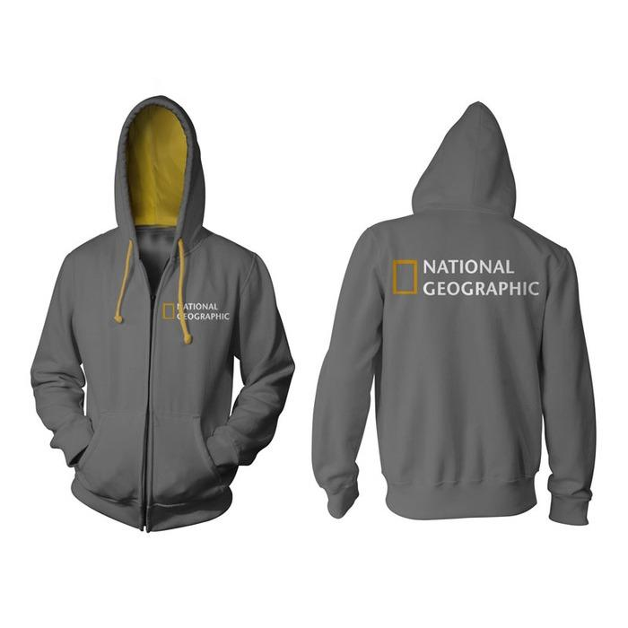 Sumber Plastik - JAKET HOODIE ZIPPER NAT GEO NATIONAL GEOGRAPHIC CHANNEL KEREN TERBARU