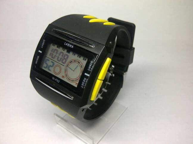 Lasika Jam Tangan Pria Digital Sporty Original Anti Air W-F 62 0a708e0e67
