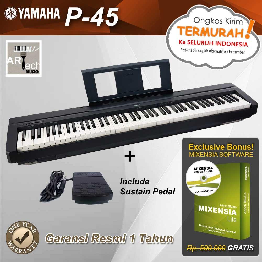 Yamaha P45 / P-45 / P45B / P-45B Digital Piano
