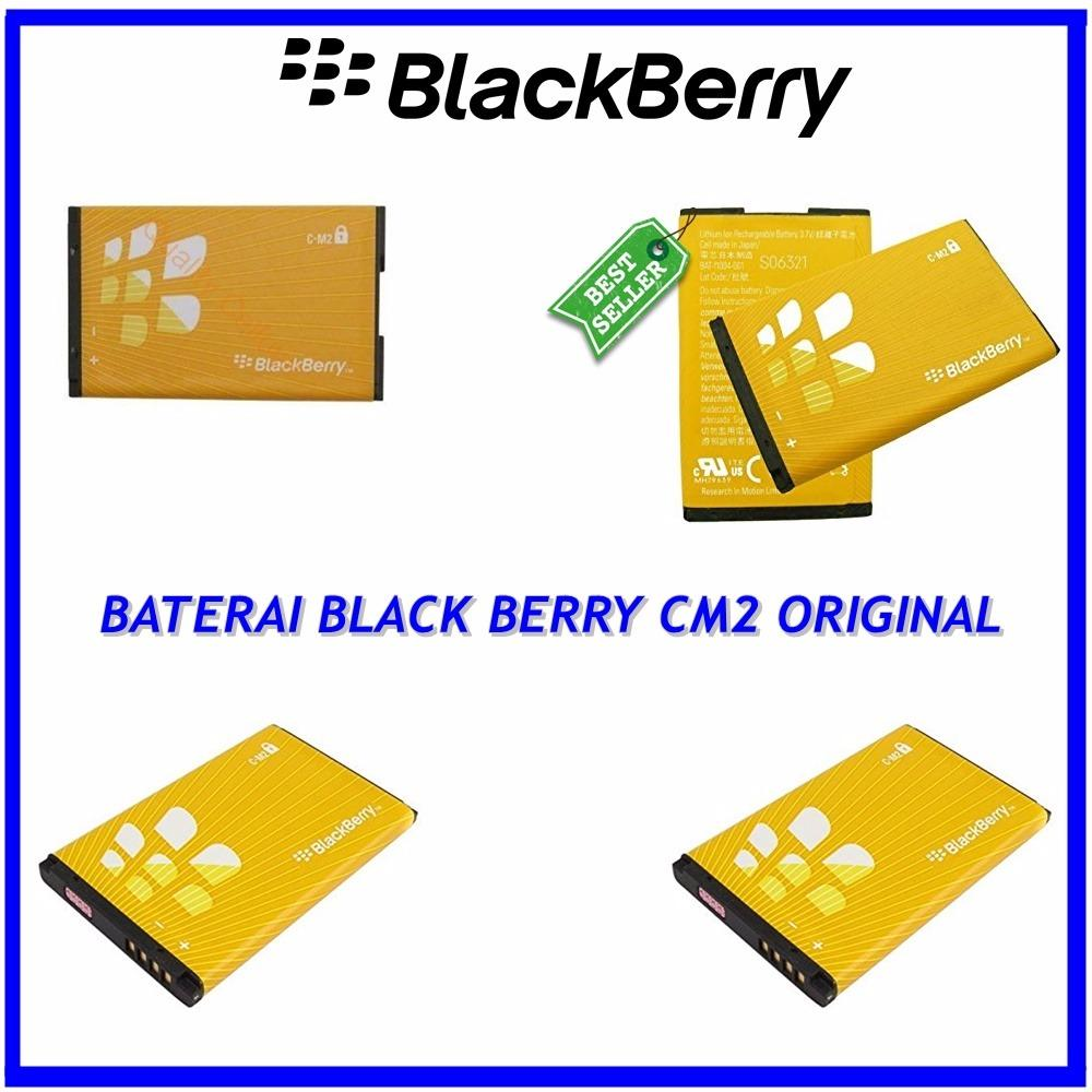 BlackBerry Baterai / Battery CM2 For BlackBerry Pearl / 8100 / 8120 / 8220 / 8130 Original - Kapasitas 1300mAh ( orikabeh )